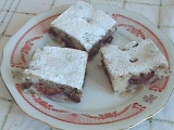 Švestkový koláč s ořechy recept