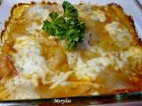 Domácí celozrnné lasagne zapečené s kuřecím masem recept ...