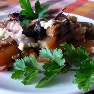 Houbové brambory recept