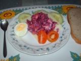 Výborný salát z červené řepy recept