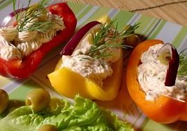 Paprikové lodičky s voňavou náplní recept