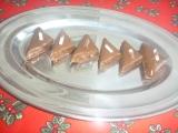Nepečené ořechové trojhránky recept