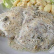 Vepřové maso s kaparovou omáčkou recept