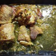 Vepřové závitky se sosem z kysaného zelí recept