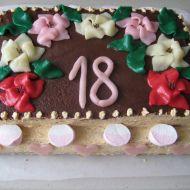 Ozdobený narozeninový dort recept