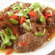Pikantní kančí guláš recept