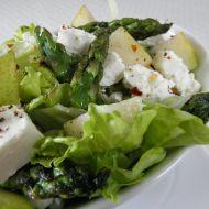 Míchaný salát s kozím sýrem recept