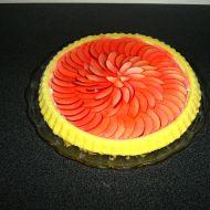 Ovocný koláč s želatinou a smetanou recept
