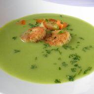 Jemná rybí polévka s hráškem recept