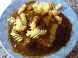 Manželův pikantní guláš recept