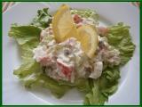 Krabí pochoutkový salát recept