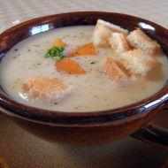 Krémová kedlubnová polévka recept
