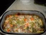 Krůtí maso zapečené se zeleninou recept