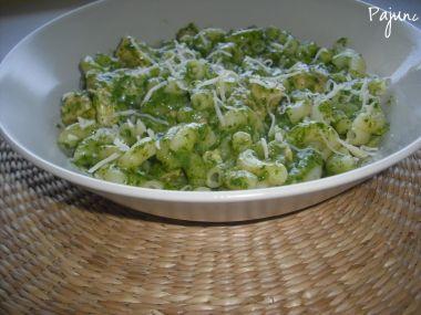 Špenátová omáčka s kuřecím masem na těstoviny či gnocchi ...