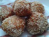 Jogurtovo-kokosové kuličky v sezamu recept