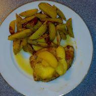 Krůtí prsa se šalvějí a jablky recept