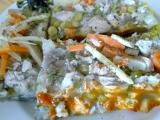 Domácí kuřecí netučná tlačenka s barevnou zeleninkou recept ...