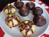 Veselé muffiny s čokofloky recept