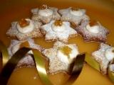 Celozrnné pomerančové hvězdičky recept
