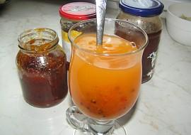 Rakytníkový 3 v 1 (džem, džus a čaj) recept