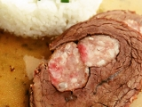 Hovězí roláda plněná po Italsku recept