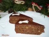 Vánoční perníkový dort recept