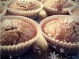 Celozrnné muffiny s medovou polevou recept