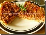 Slaný koláč s pohankovou náplní recept