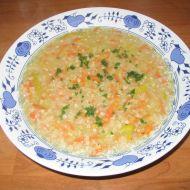 Levná pohanková polévka recept