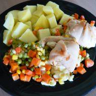 Kuřecí rolky se sýrem a zeleninou recept