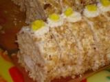 Ořechová roláda s ananasem recept