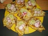 Víkendová snídaně Romik- smaženky s domácím cibulovým chlebem