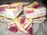 Linecký koláč s jahodami a tvarohem recept