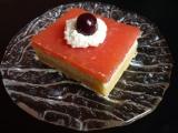 Tvarohový koláč s jablkovým pudingem recept