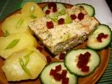 Květákovo-brokolicový nákyp s vinnou klobásou recept ...
