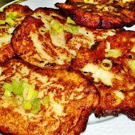 Placky z bramborové kaše a strouhaného sýra recept