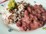 Višňové kuřecí nudličky s quinoou a rýží recept