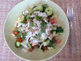 Zeleninový salát s jogurtovým dresingem recept