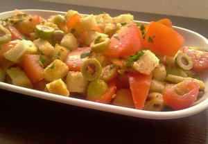 Bagetový (chlebový) salát