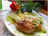 Kuřecí stehna pečená na talíři recept