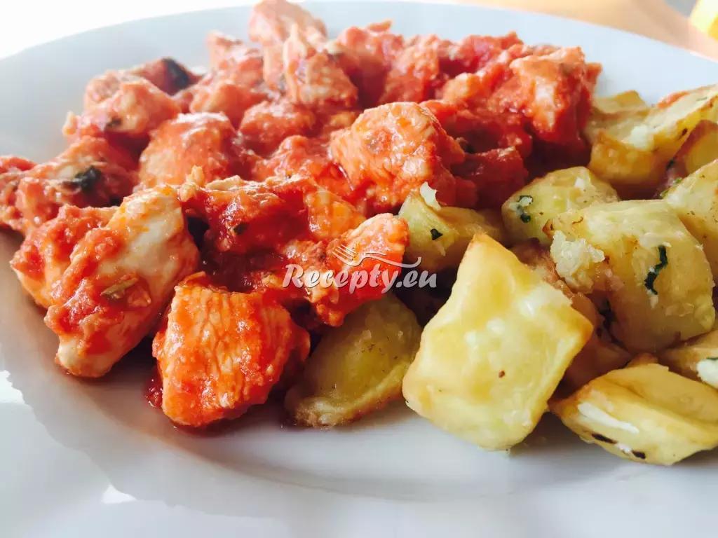 Italské kuřeci ragů recept  drůbeží maso