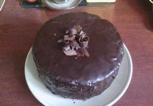 Čokoládový dort ala Sacher