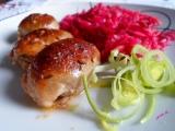 Nadívané kuřecí kůže recept