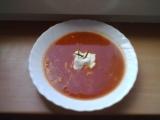 Rajská polévka s krupičnými knedlíčky recept