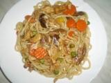 Ohnivé čínské nudle recept