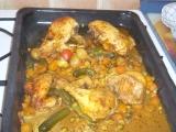 Kuře bez tuku se zeleninou recept