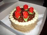 Čokoládový dort (kulatá forma) recept