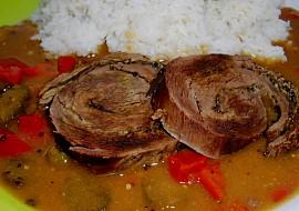 Hovězí pupek s hrubozrnnou hořčicí recept