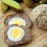 Pštrosí vejce z mletého masa recept