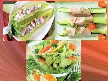 Zeleninové svačinky pro štíhlou linii